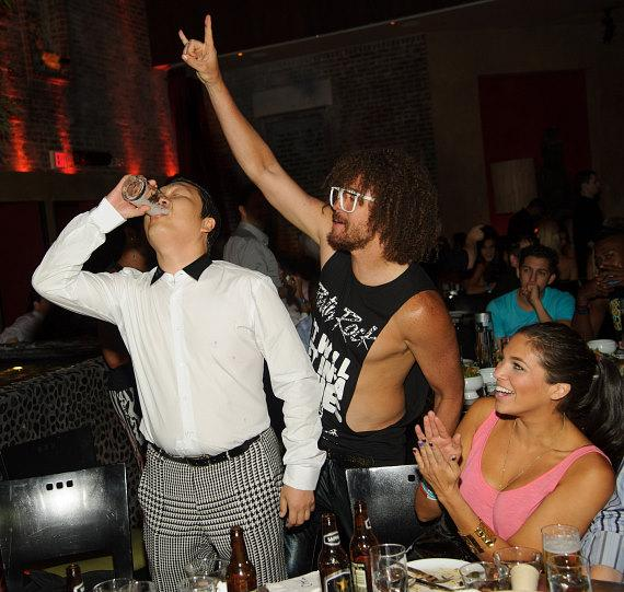 PSY and Redfoo at TAO