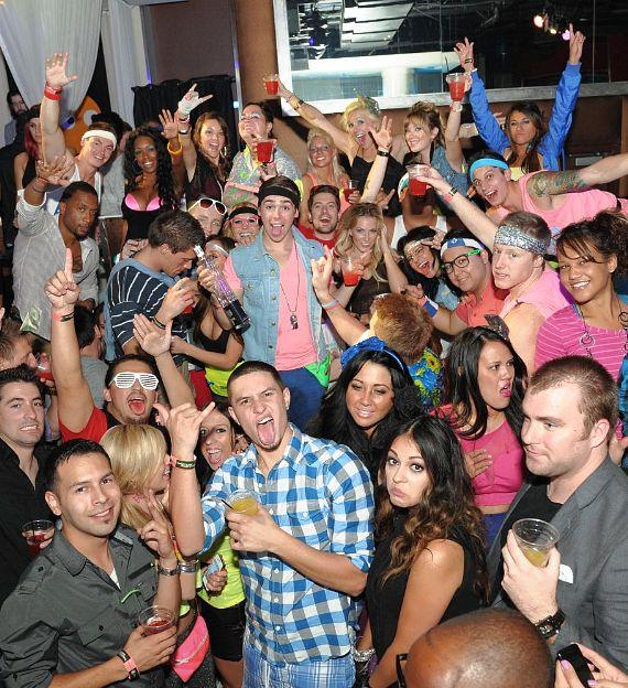 """PURE Nightclub - """"Back to the 80s"""" Winners: Marquee"""