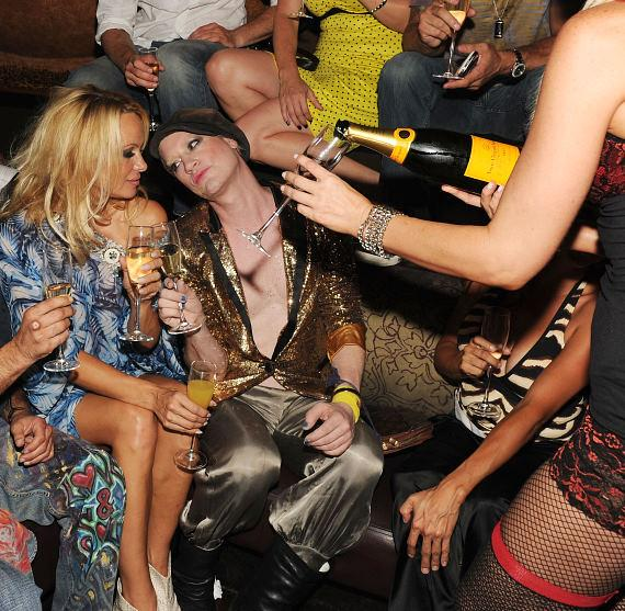 Pam Anderson and Richie Rich at TAO