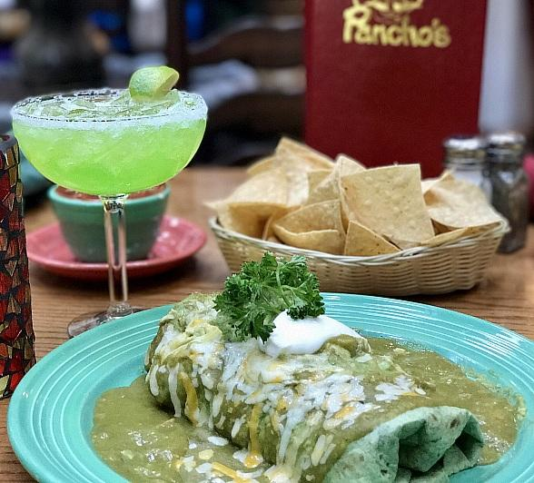 """Go Grande This St. Patrick's Day with Pancho's """"Greengo Burrito"""""""