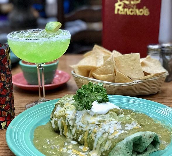 "Go Green This St. Patrick's Day with Pancho's ""Greengo Burrito"" March 17 in Las Vegas"
