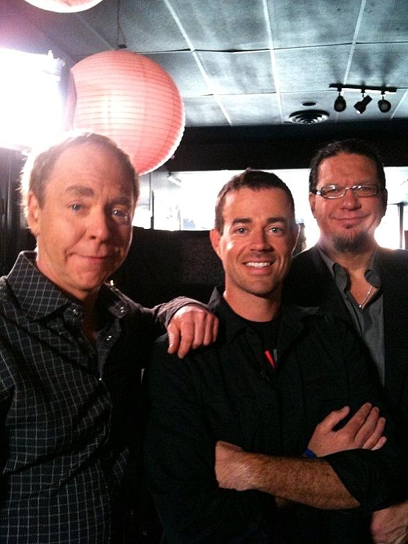 """Penn & Teller to be on """"Last Call with Carson Daly"""" Tonight"""