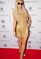 Paris Hilton Parties at Hakkasan Las Vegas Nightclub