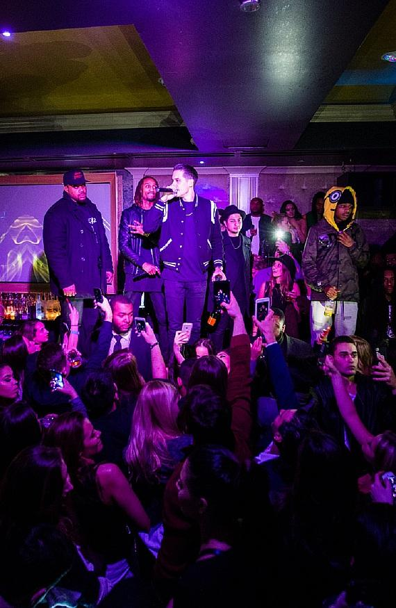 G-Eazy Performs at Parliament Chicago