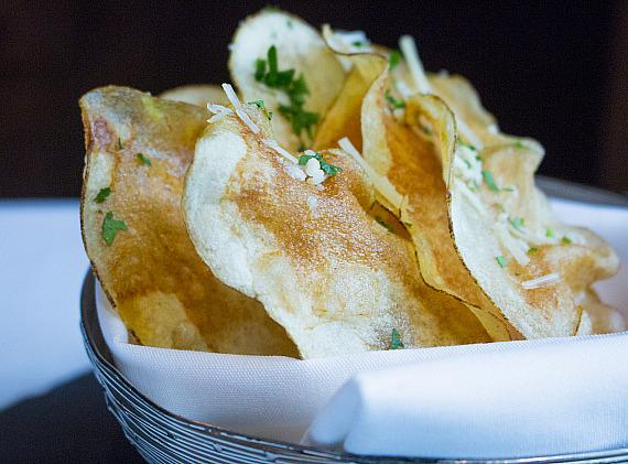 Parmesan Truffle Potato Chips