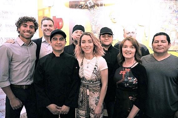 Pasta Shop family and staff