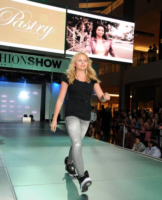 Alli Simpson at Pastry Shoes fashion show in Las Vegas