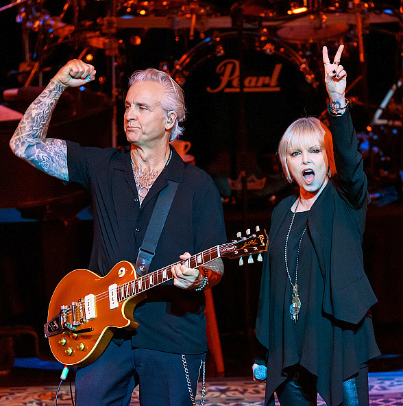Pat Benatar & Neil Giraldo Kick Off Two-Night Engagement of 40th Anniversary Tour at Wynn Las Vegas
