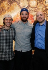 "Canadian Actor Stephen Amell of ""Arrow"" Parties at Hyde Bellagio Las Vegas"