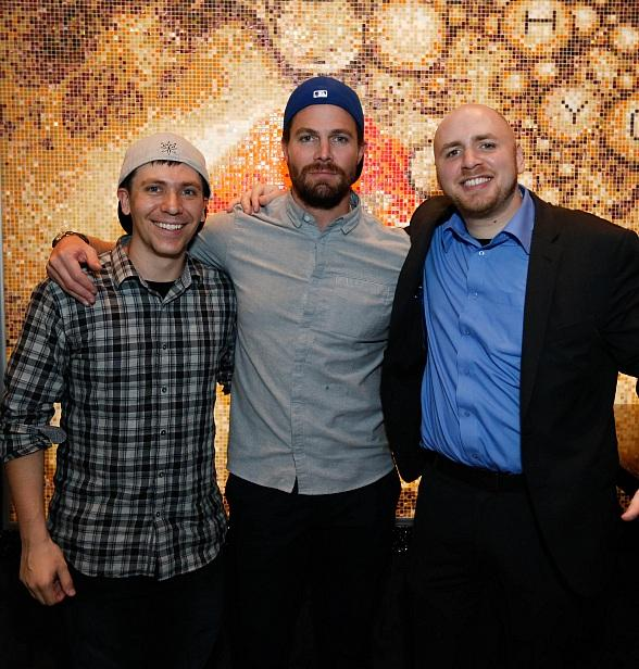 Canadian Actor Stephen Amell Parties at Hyde Bellagio Las Vegas