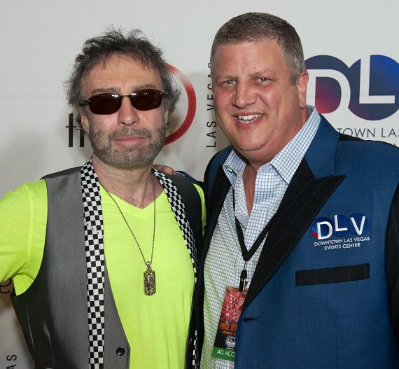 Paul Rodgers with DLVEC CEO Derek Stevens