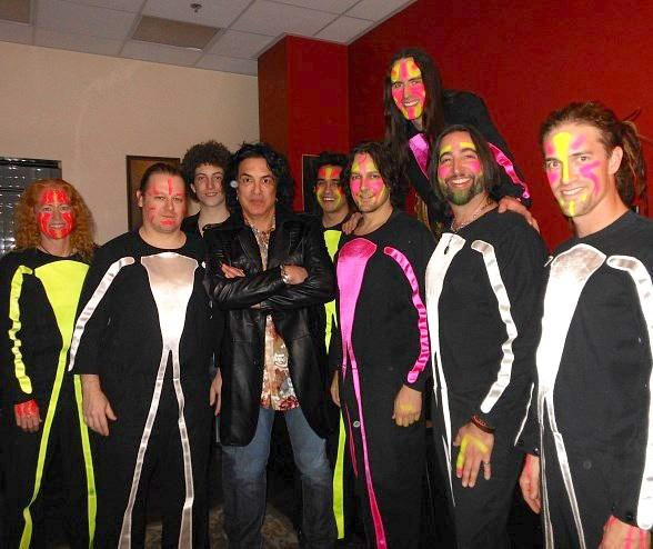 Paul Stanley of KISS at Blue Man Group Las Vegas