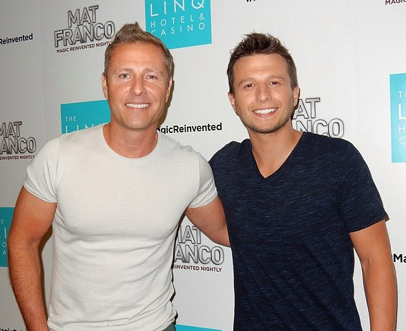 "Las Vegas Headliner Paul Zerdin attends Mat Franco's ""Magic Reinvented Nightly"" at The LINQ Hotel & Casino"
