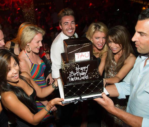 Paula Abdul's 50th Birthday at TAO in Las Vegas