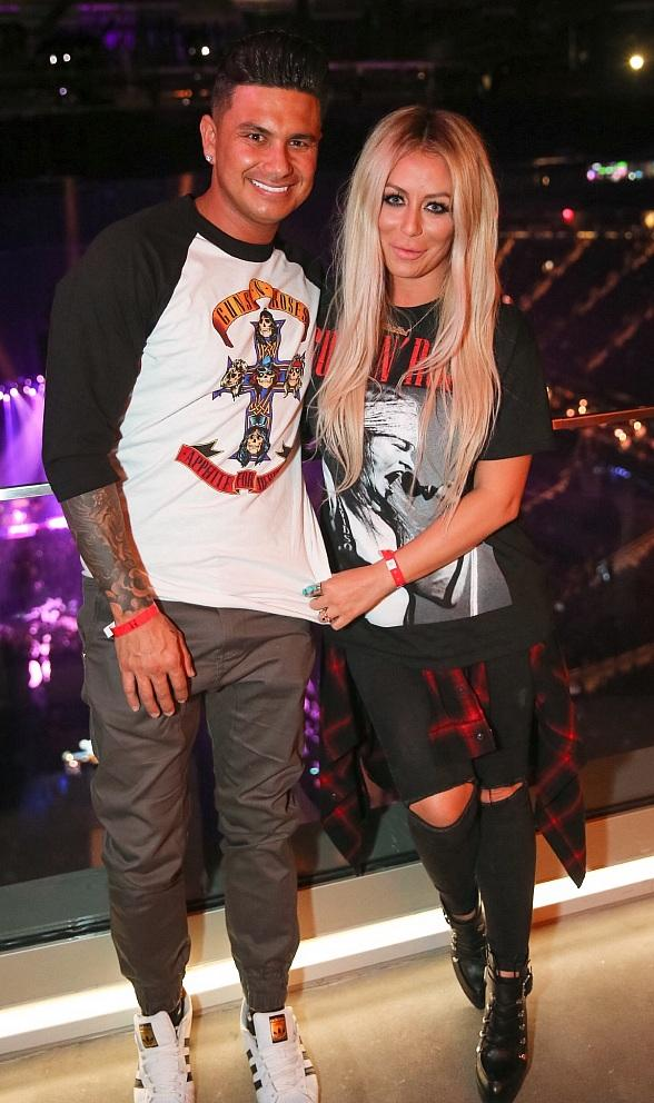 DJ Pauly D, Aubrey O'Day and The Stafford Brothers at Hyde Lounge at T-Mobile Arena