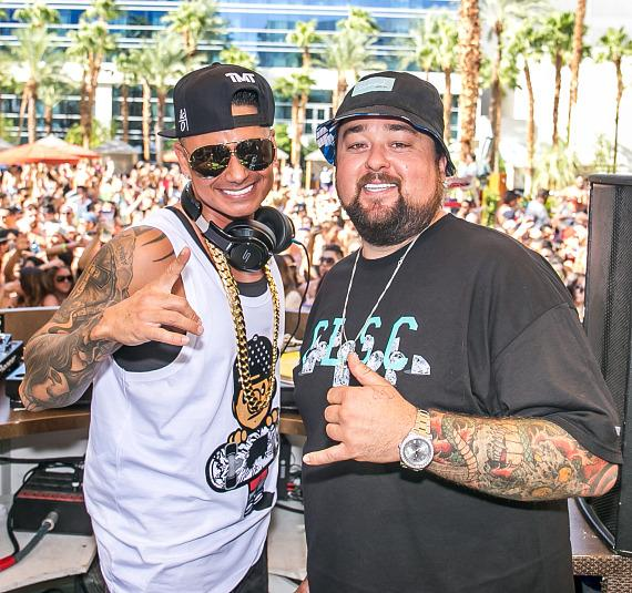 Pauly D and Chumlee at REHAB