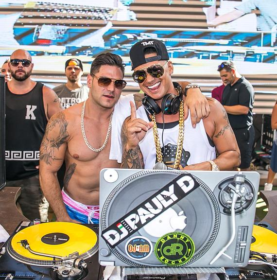 Pauly D and Ronnie Magro at REHAB