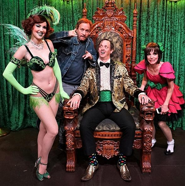 Pauly Shore Attends ABSINTHE at Caesars Palace Las Vegas