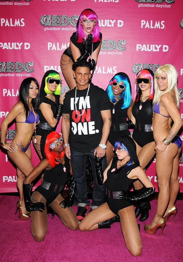 DJ Pauly D Performs at GBDC Ghostbar Dayclub at Palms Casino Resort