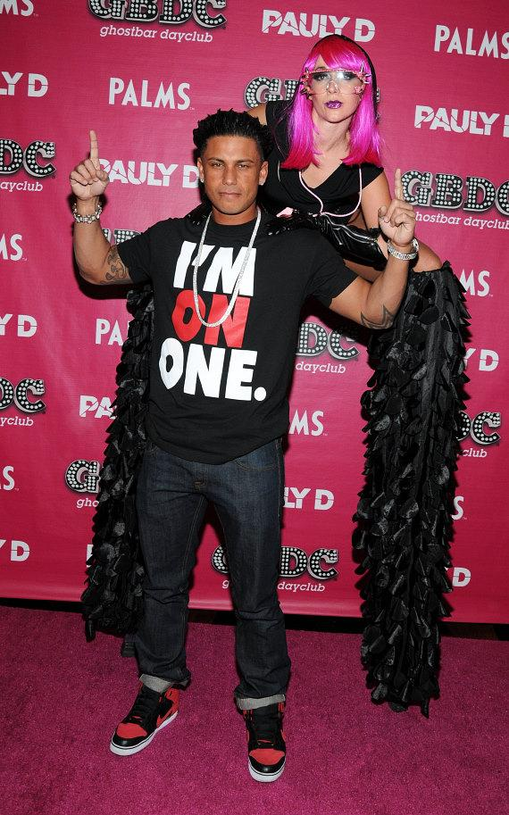 DJ Pauly D at GBDC Ghostbar Dayclub at Palms Casino Resort