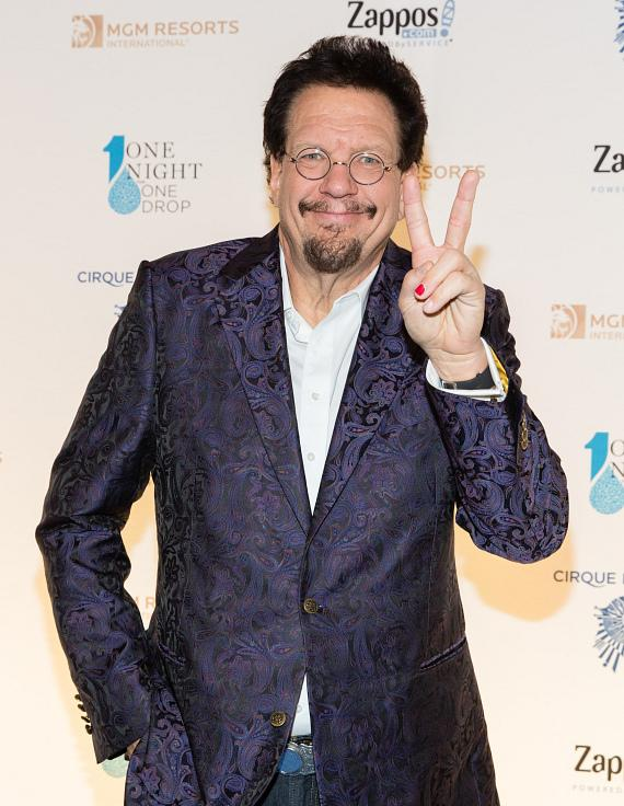 Penn Jillette at One Night for One Drop
