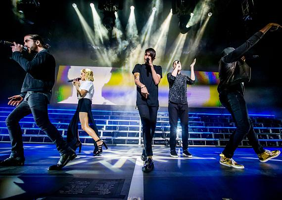 Pentatonix performs at The Chelsea inside The Cosmopolitan of Las Vegas