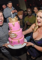 Perez Hilton's 40th Birthday; Drake & French Montana Perform at Marquee; Gucci Mane at TAO