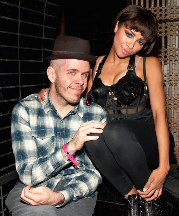 Perez Hilton and Kat Graham at LAVO