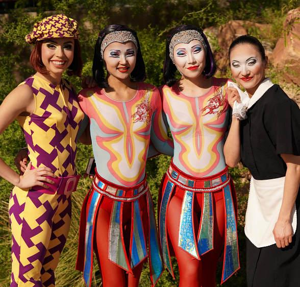 "Cirque Du Soleil Hosts 17th Annual ""Run Away with Cirque Du Soleil"" at Springs Preserve in Las Vegas"
