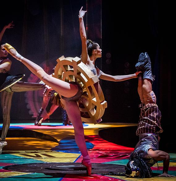 Performers light up the stage at fifth annual One Night for One Drop at Zumanity Theatre