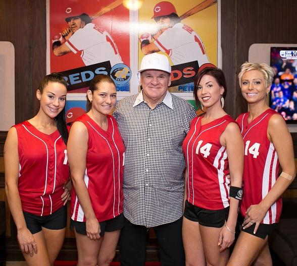 Pete Rose Sports Bar and Grill Celebrates Grand Opening on The Las Vegas Strip