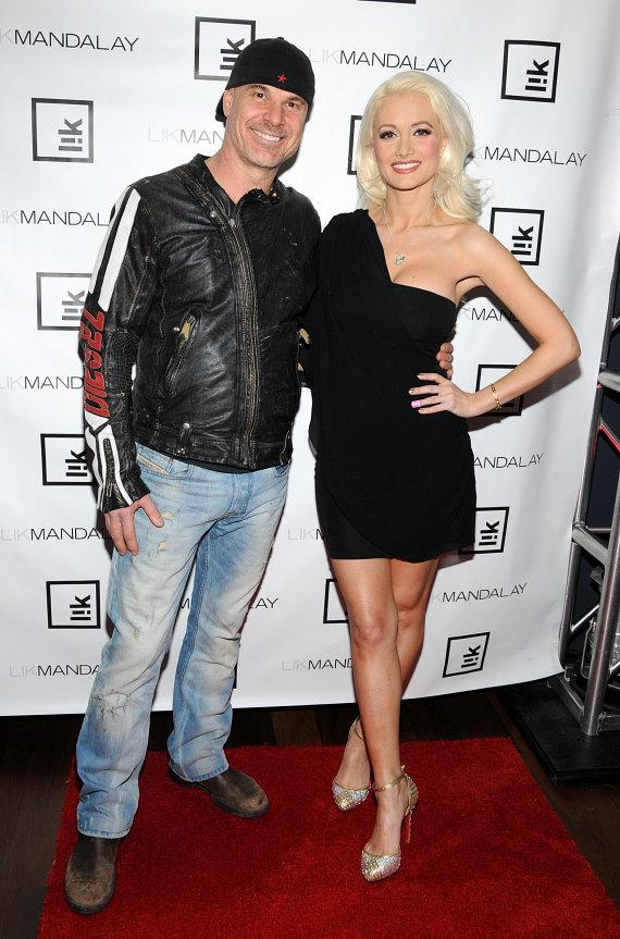 Peter Lik with Holly Madison