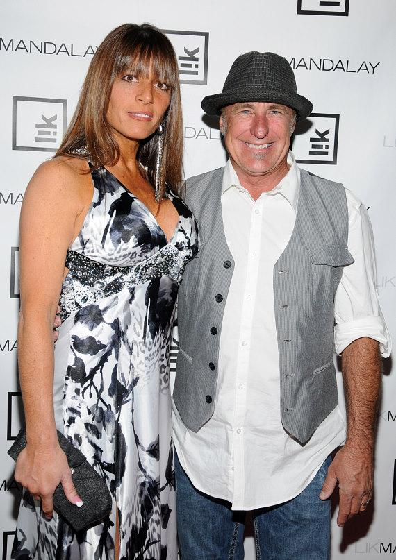 Rick Dale (r) with girlfriend Kelly