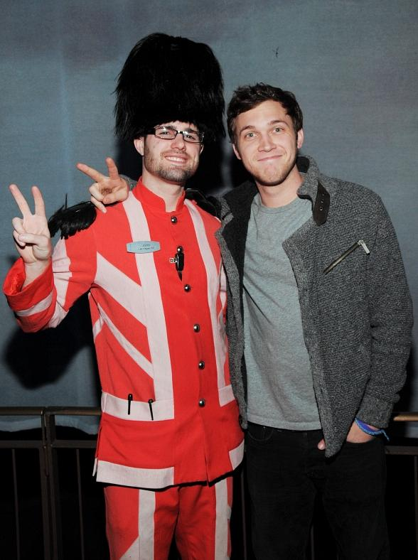 American Idol Winner Phillip Phillips Attends The Beatles LOVE by Cirque du Soleil