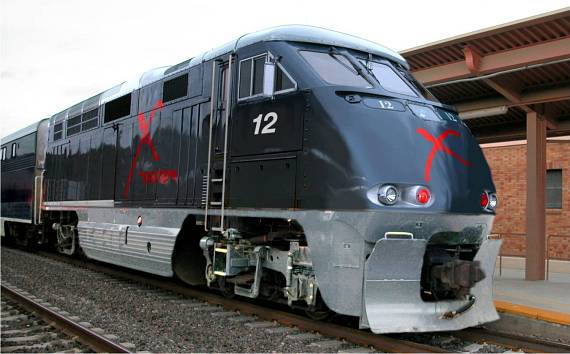 Concept photo: X Train to Provide Las Vegas to Southern California Service in Late 2013