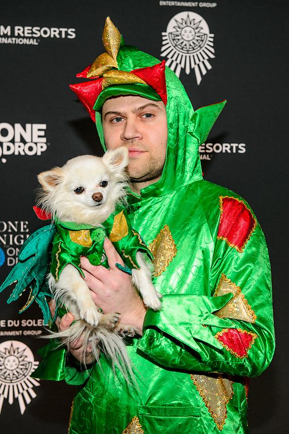Piff the Magic Dragon at the sixth edition of One Night for One Drop imagined by Cirque du Soleil
