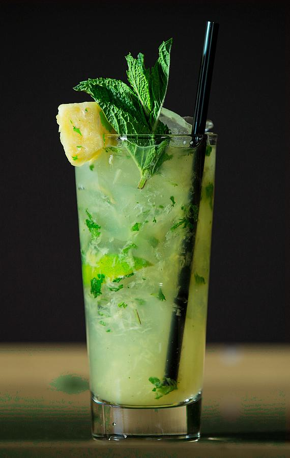 Pineapple Mojito at Hyde Bellagio in Las Vegas