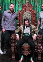 "Pittsburgh Penguins Kris Letang, Ian Cole and Ryan Reaves Attend ""Absinthe"" at Caesars Palace in Las Vegas"