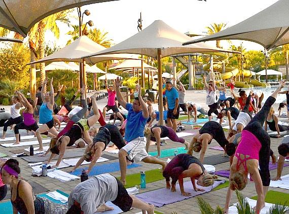 Life Time Clubs to Celebrate Summer Solstice with Poolside Yoga