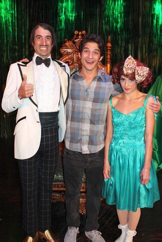 """CW's """"90210"""" star Jessica Stroup at ABSINTHE in Las Vegas"""