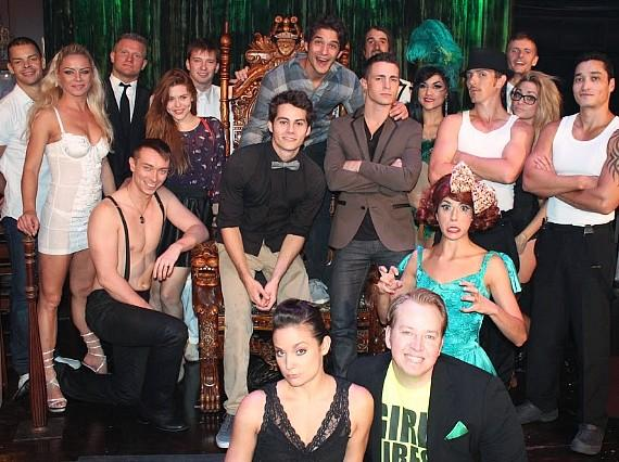 Tyler Posey, Colton Haynes, Dylan O'Brien and Holland Roden at ABSINTHE