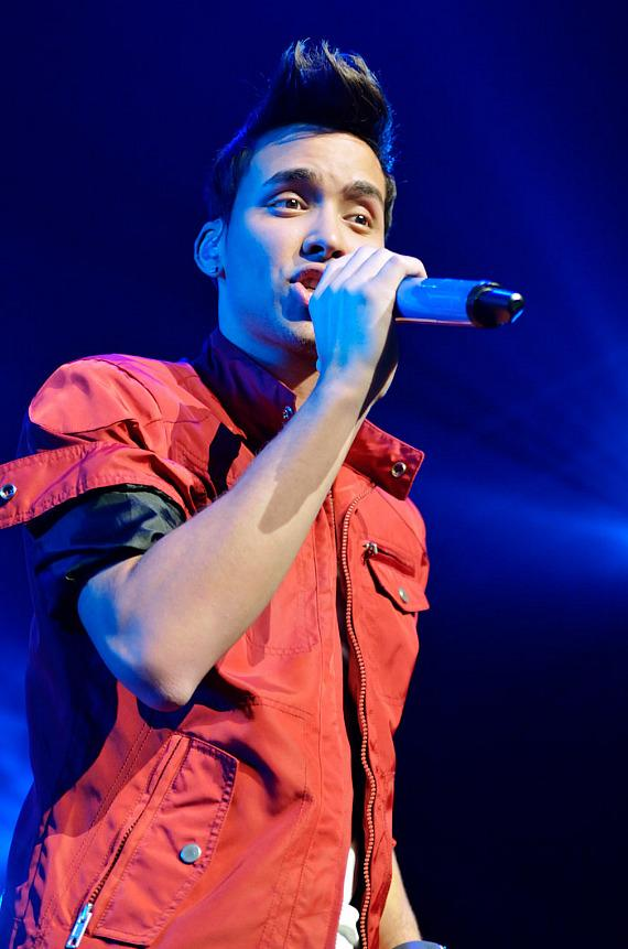 Prince Royce performs at The Joint at Hard Rock Hotel & Casino in Las Vegas