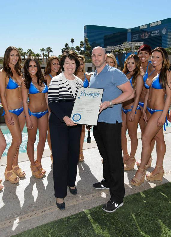 Proclamation Ceremony at WET REPUBLIC