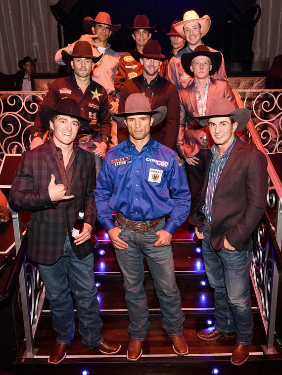 Professional Bull Riders Celebrate at the PBR Official Launch Party at LAX Nightclub