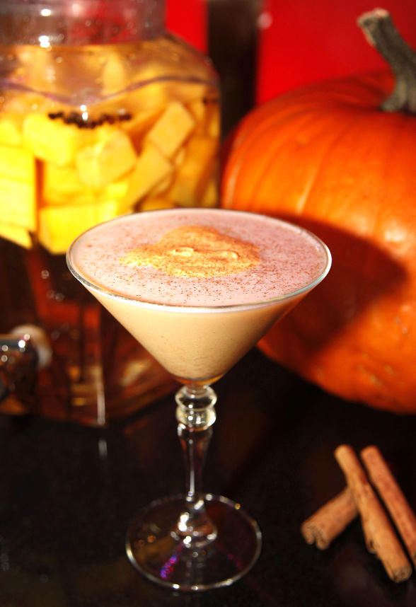 FUSION MIXOLOGY BAR Pumpkin Spice Martini