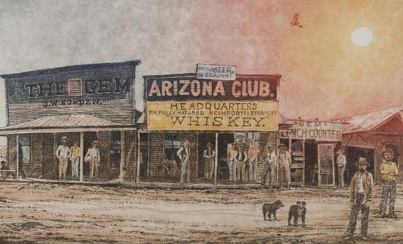 """Vegas Valley Memories: The Art of Roy Purcell"" Exhibit Opens August 3 at Springs Preserve"