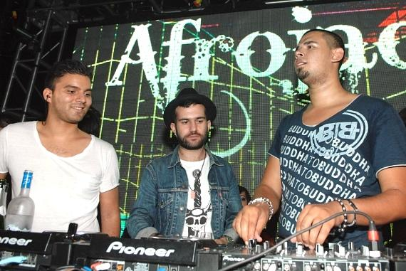 R3hab, A-Trak and Afrojack