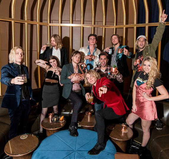 R5 Celebrates Ross Lynch's 21st Birthday at The Venetian Las Vegas