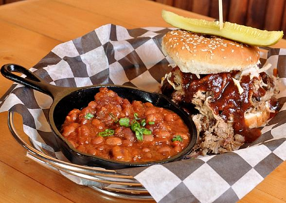 Ranch House Kitchen's BBQ Pulled Pork Sandwich
