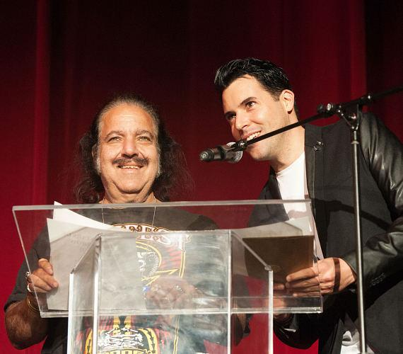 Ron Jeremy and Frankie Moreno